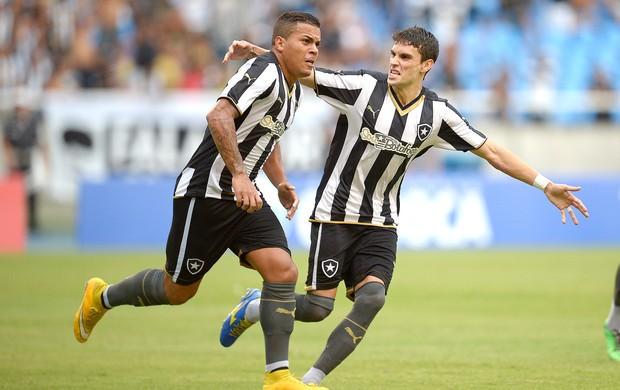 Thiago Carleto e Pimpão Botafogo x Bonsucesso (Foto: Alexandre Loureiro / Agência Estado)