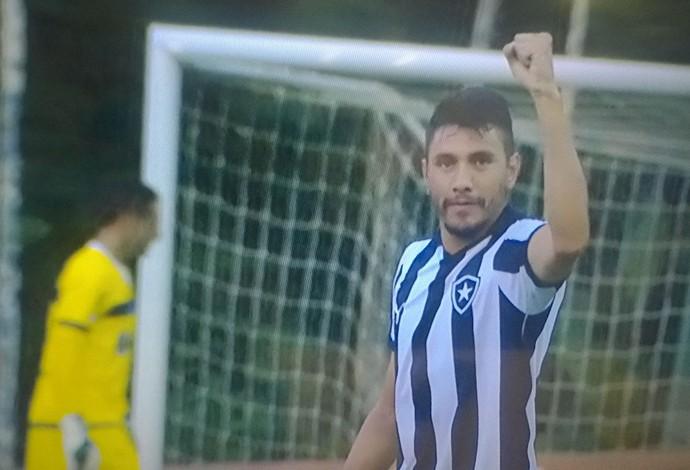 Gervasio Yaca, Botafogo (Foto: Reprodução / Premiere)