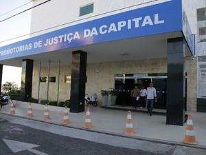 Sede das Promotorias de Justiça da capital maranhense (Foto: Flora Dolores / O Estado)