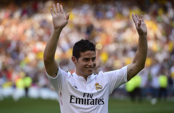 james rodriguez real madrid (Foto: AFP)
