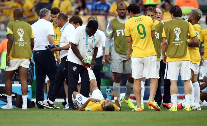neymar brasil x chile (Foto: Marcos Ribolli)