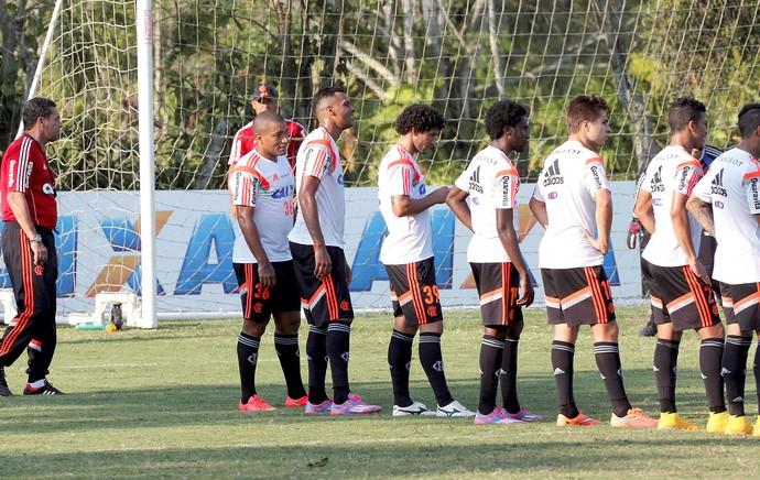 Treino Flamengo (Foto: Cezar Loureiro / Agência O Globo)
