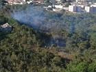 Incêndio atinge área de parque estadual em bairro de Cuiabá