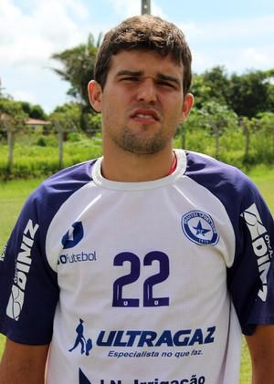 Ramon, volante do Parnahyba (Foto: Josiel Martins )