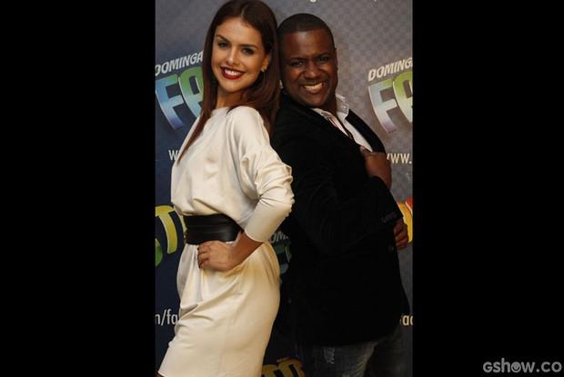 Paloma Bernardi e Patrick Carvalho (Foto: Raphael Dias/ TV Globo)