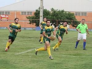 Cuiabá conquistou o 1º Torneio de Rugby Sevens de Rondonópolis (Foto: Michel Leplus/Cuiabá Rugby)