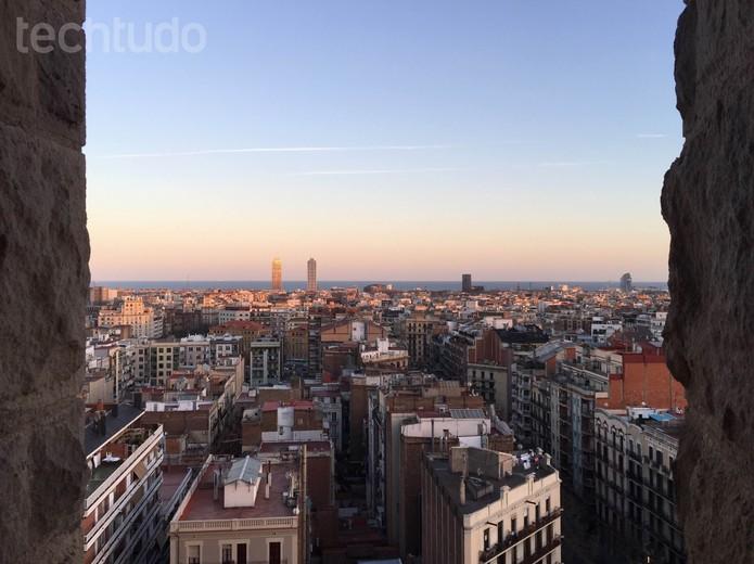 Foto tirada no fim da tarde com o iPhone 6 Plus (Foto: Isadora Díaz/TechTudo)