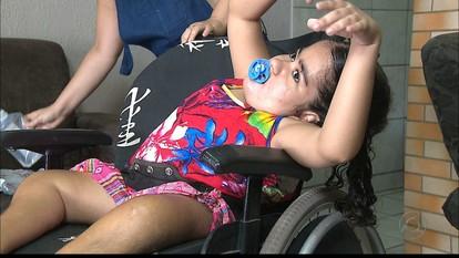 Conheça a história de Paloma, que tem uma doença rara e precisa da ajuda do poder público