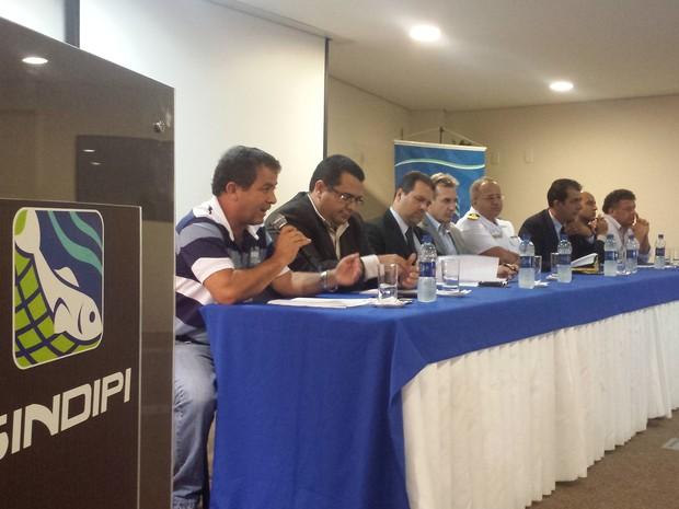 Encontro aconteceu em Itajaí (Foto: Natan Messias)