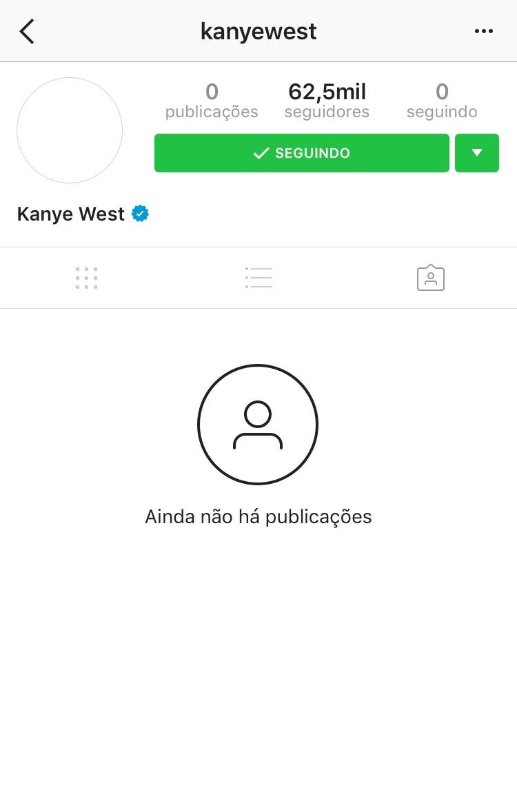 Perfil de Kanye West (Foto: Divulgação)