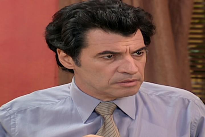 Miguel fica furioso ao saber que Laura convidou Bernardo para morar fora (Foto: Reproduo/viva)