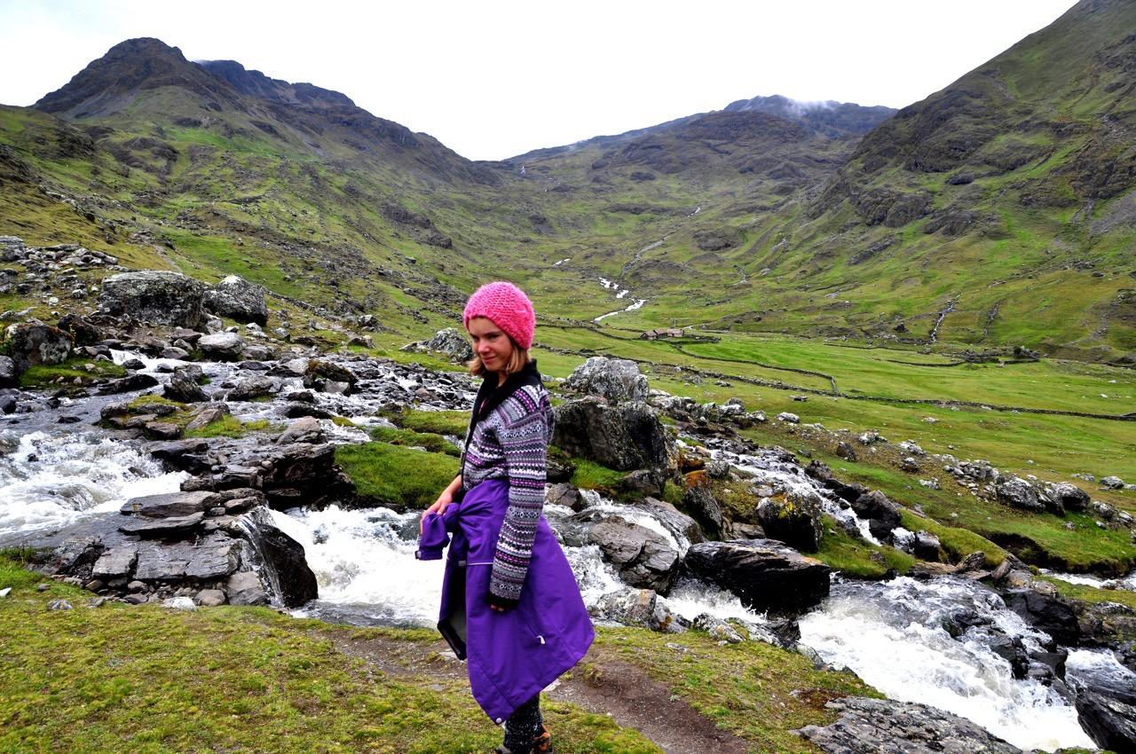Blogueira em viagem ao Peru (Foto: Reprodução/Dreamtime Traveler)