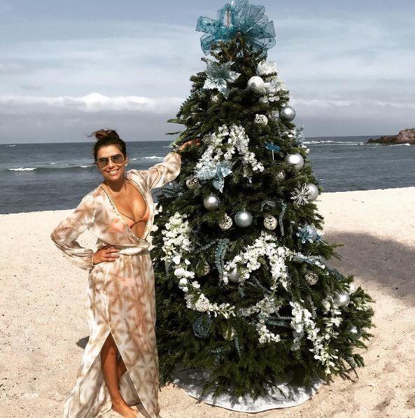 Eva Longoria surpreende com post natalino (Foto: Reprodução/Instagram)