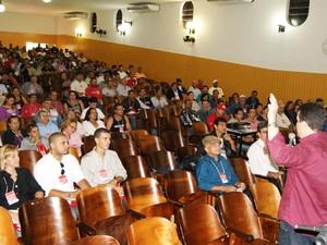 Aproximadamente 300 profissionais participam das palestras. (Foto: Divulgação/ Arquivo Secom)
