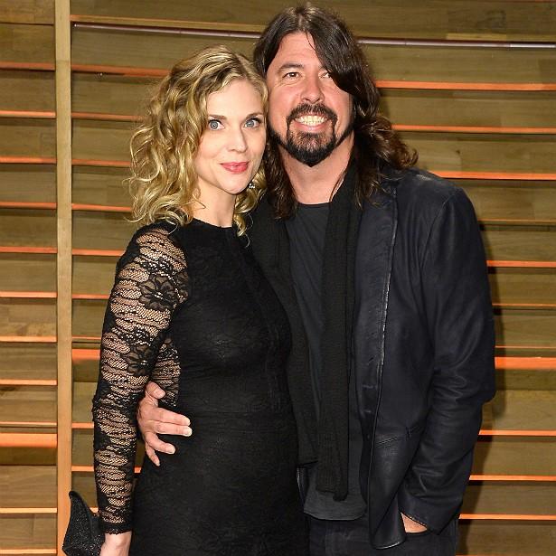 A ex-modelo Jordyn Blum e o músico Dave Grohl, do Foo Fighters: 11 anos de casamento e três filhas. (Foto: Getty Images)