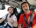 Zanetti acompanha etapa de Curitiba da Stock Car de perto e até pilota carro