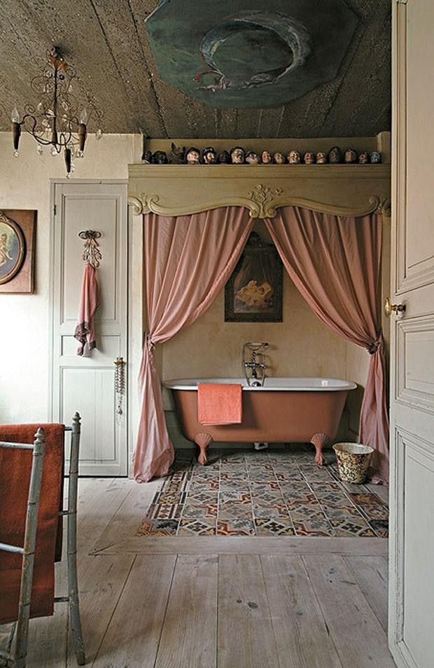 Salas de banho para sonhar e relaxar (Foto: reprodução)