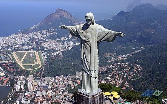 Cristo Redentor - a maior estátua art decó do mundo (Foto: Globo.com)