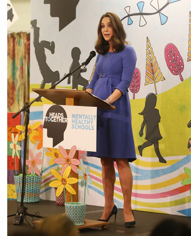 Kate Middleton durante evento da Heads Together (Foto: Getty Images)