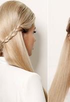 Aline Gotschalg mostra maquiagem e penteado para as festas de fim de ano