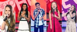 Saiba tudo sobre os talentos mirins do Paraná, que estão brilhando no The Voice Kids (Isabella Pinheiro/ Divulgação Globo / Gshow)