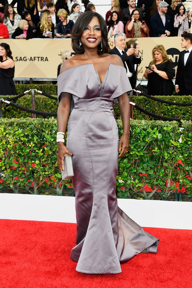 Viola Davis no SAG Awards (Foto: Getty Images)