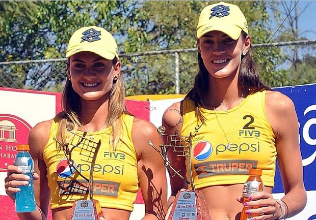 vôlei de praia Elize Maia e Fernanda Berti (Foto: Divulgação)