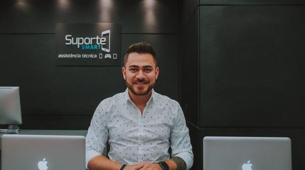 Guylherme Ribeiro, fundador da Suporte Smart (Foto: Reprodução)