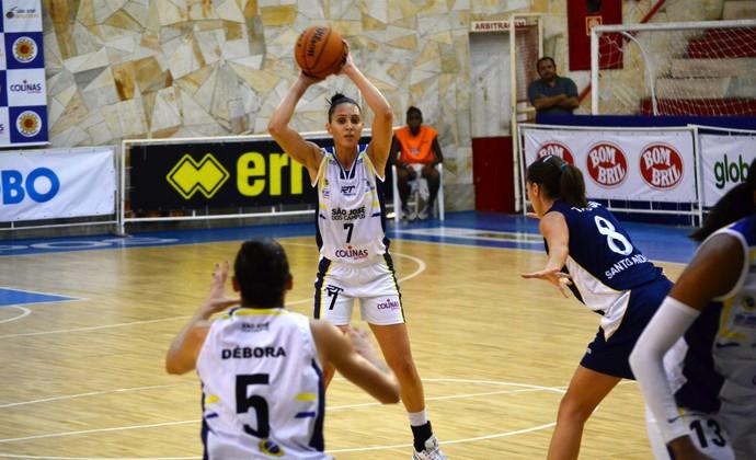 Patty São José Basquete x Santo André Basquete LBF (Foto: Danilo Sardinha/GloboEsporte.com)