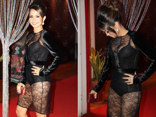Nanda Costa vibra com primeira protagonista (Foto: Salve Jorge / TV