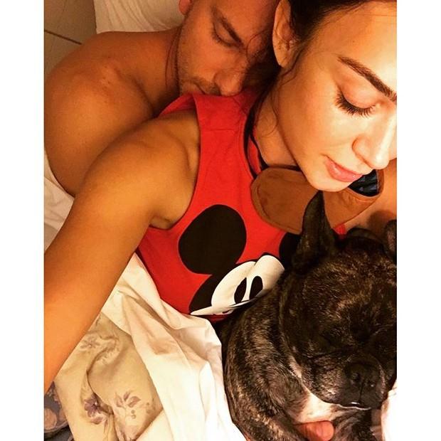 Thaila Ayala e Adam Senn (Foto: Instagram/ Reprodução)