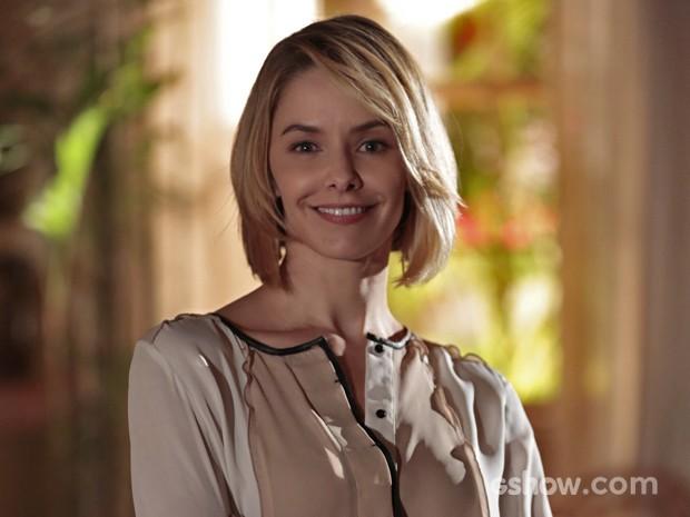 Bianca Rinaldi vive Silvia na novela 'Em Família' (Foto: Felipe Monteiro/ TV Globo)