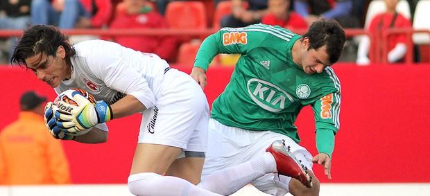 Kleber jogo Tijuana (Foto: AFP)