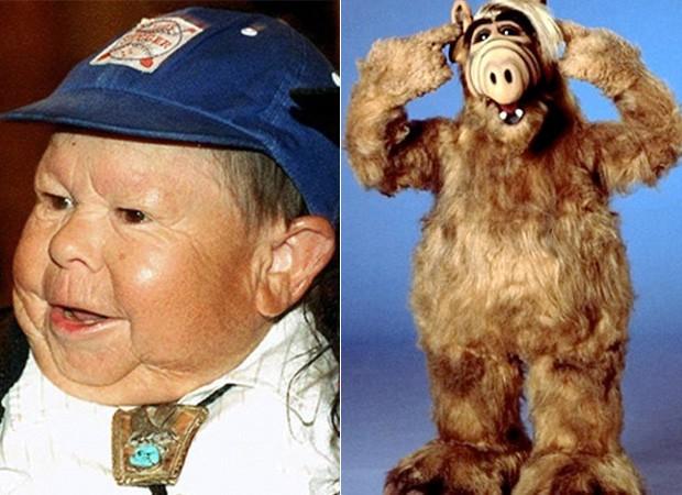 Michu Meszaros como Alf (Foto: reprodução / Daily Mail)