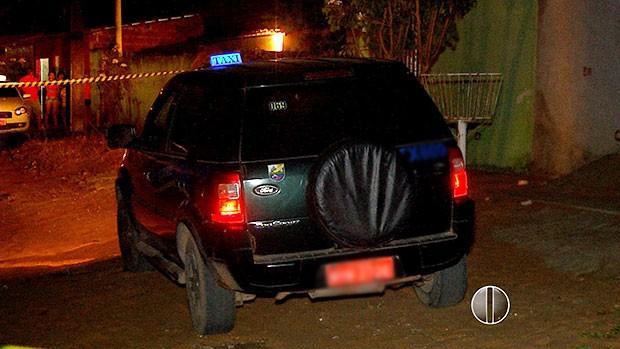 Crime aconteceu na noite desta segunda-feira (2) no bairro Pajuçara, Zona Norte de Natal (Foto: Reprodução/Inter TV Cabugi)