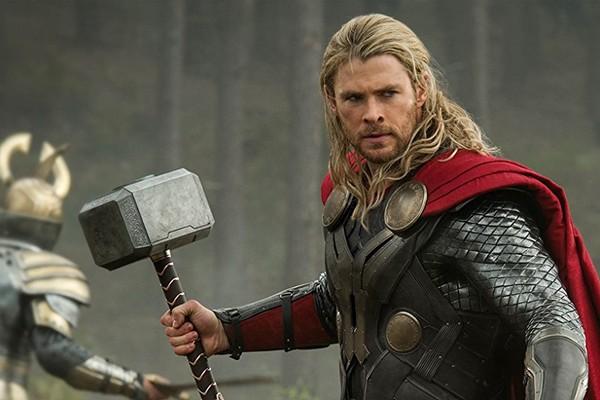 Chris como Thor: um papel disputado dentro da família (Foto: Divulgação)