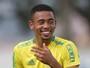Palmeiras treina com Gabriel Jesus em BH; Zé e Mina fazem trabalhos físicos