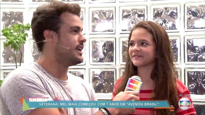 A atriz conversou com o 'Vìdeo Show' e relembrou sua participação na novela (Foto: TV Globo)