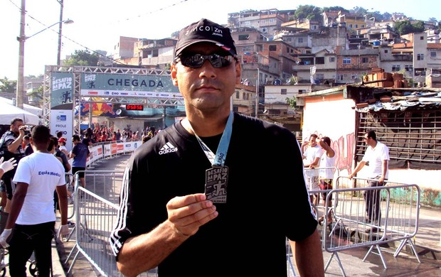 Corrida Desafio da Paz Sergio Pessoa Eu Atleta Minha Hist&#243;ria (Foto: Arquivo Pessoal)