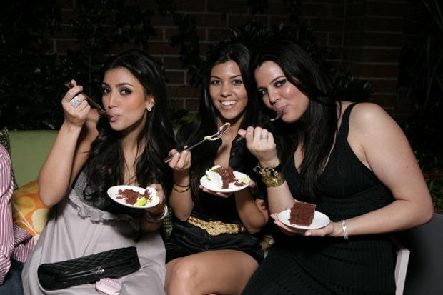 Kim, Kourtney e Khloé Kardashian (Foto: Getty Images)