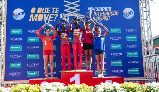 Nos 10km femininos, pódio teve queniana, tanzaniana e brasileiras (Foto:  Alfredo Risk)