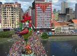 Galo da Madrugada é atração no Carnaval de Olinda (PE)