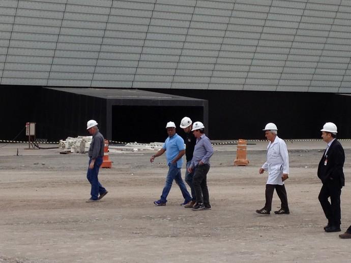arena corinthians andres sanchez (Foto: Felipe Zito)