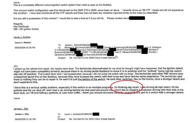 """Funcionários da GM suspeitam de """"grande recall""""  (Foto: Reprodução)"""