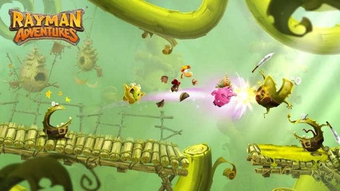 Rayman Adventures da sequência a uma das mais famosas franquias da empresa (Foto: Divulgação/Ubisoft)