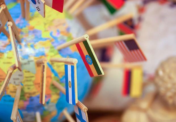 Globalização ; economia mundial ; exportação ; crescimento da economia ; estudar fora ; exterior ;  (Foto: Shutterstock)