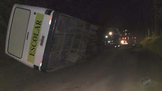 Mulher morre prensada por ônibus na zona rural de Caldas, MG