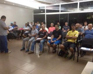 Evento em Volta Redonda definiu os grupos da 25ª Copa Rio Sul de Futsal (Foto: Gislaini Fialho/Arquivo Pessoal)