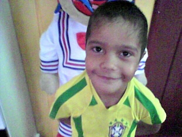 Garoto foi atendido no Hospital do Juruá no dia 19 de agosto  (Foto: Esmênia Silva/ Arquivo pessoal )