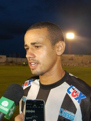 Alisson Santana, zagueiro do Treze (Foto: Silas Batista / GloboEsporte.com)